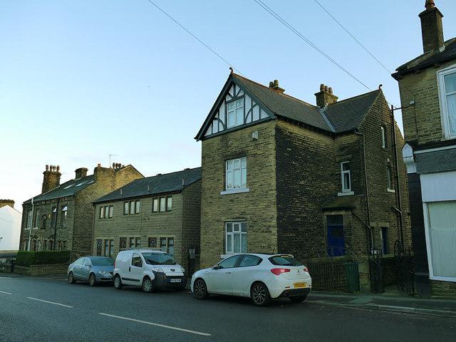 Houses on Stony Lane, Eccleshill