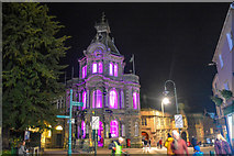 SS9512 : Tiverton : Tiverton Town Hall by Lewis Clarke