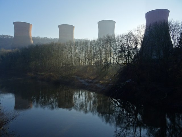 Cooling towers of Ironbridge Power Station