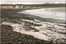 NX0882 : Spume on the beach by Richard Sutcliffe
