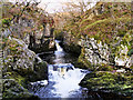 SD7074 : Ingleton Waterfalls Trail, Rival Falls(?) by David Dixon