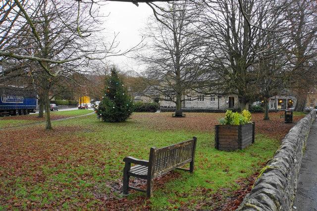 Village green in Baslow