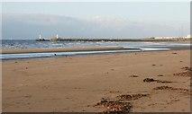 NS3321 : Ayr beach by Richard Sutcliffe