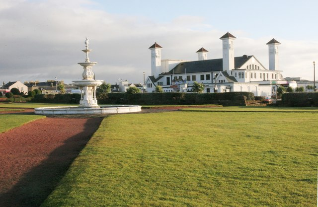 Fountain and pavilion, Ayr