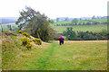 SO2686 : Offa's Dyke Path approaching Middle Knuck by Jeff Buck