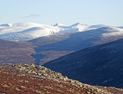 NN6888 : Looking to the Cairngorms by Adam Ward