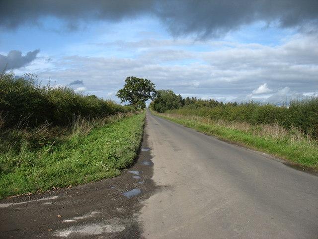 A minor road heading for Carlisle
