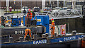 J3474 : Dredging workers, Belfast by Rossographer
