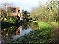 SO8172 : Canal near Upper Mitton Bridge by Philip Halling