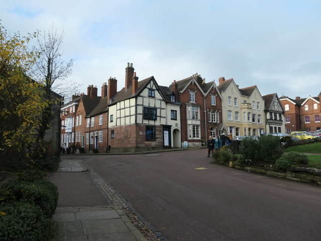 West end of The Close, Lichfield