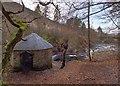 NH4216 : Invermoriston House Gazebo by valenta