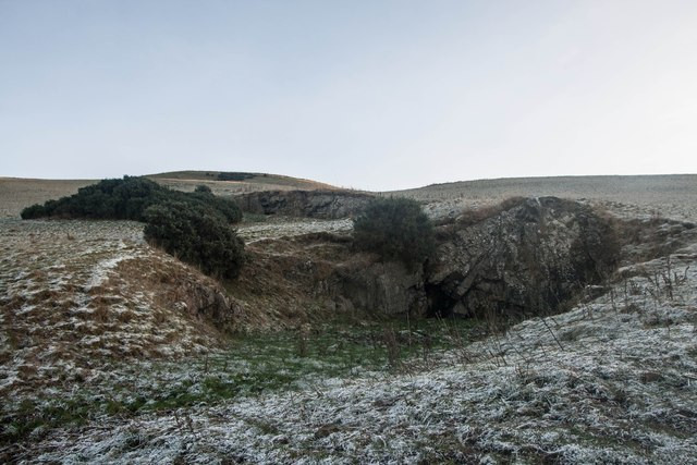 Disused Quarries, Lindores Hill