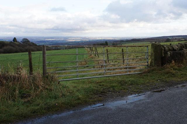 Field entrance off Syda Lane