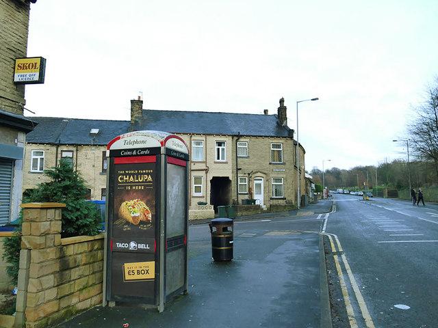 Phone box on Otley Road