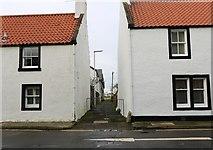 NT4899 : Allan Place, Earlsferry by Bill Kasman