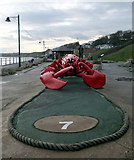 TA1280 : Crazy Golf, Promenade, Filey by habiloid