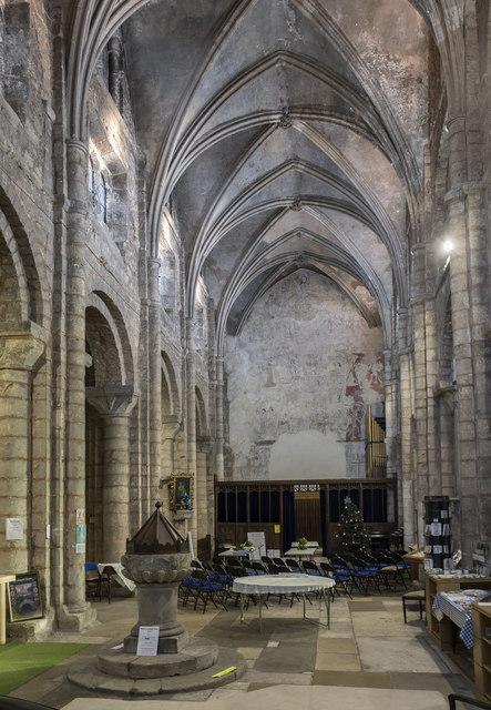 Interior, Ss Mary & Martin's church, Blyth