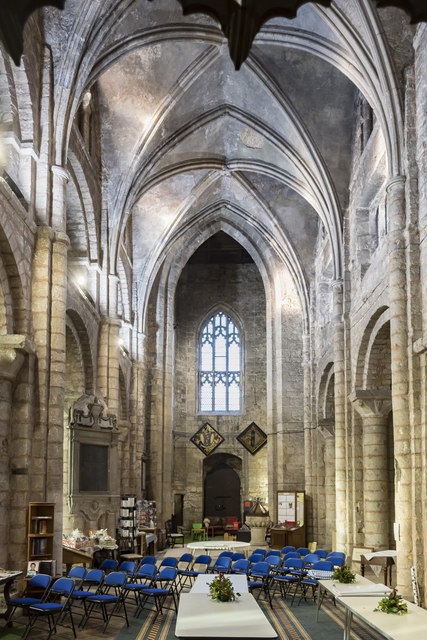 Nave and vaulting, Ss Mary & Martin's church, Blyth