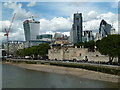 TQ3380 : The Tower of london and London's developing skyline by Chris Allen