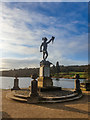 SJ8640 : Perseus With the Head of Medusa Statue, Trentham Gardens by Brian Deegan