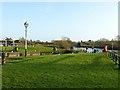 SE5944 : Naburn Lock - the island by Alan Murray-Rust