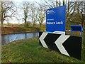SE5944 : Welcome to Naburn Lock by Alan Murray-Rust