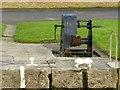 SE5944 : Naburn Lock - windlass by Alan Murray-Rust