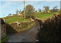 ST7469 : Junction, Ashcombe Farm by Derek Harper