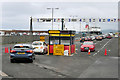 NS2241 : Vehicle Check-in for Brodick Ferry by David Dixon