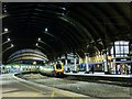 SE5951 : York Station at night by Alan Murray-Rust