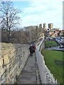 SE5951 : York City Walls by Oliver Dixon