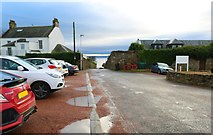 NO4800 : Exit from Elie Golf House Club by Bill Kasman