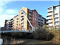 SE6051 : Hungate footbridge and Leetham House by Oliver Dixon