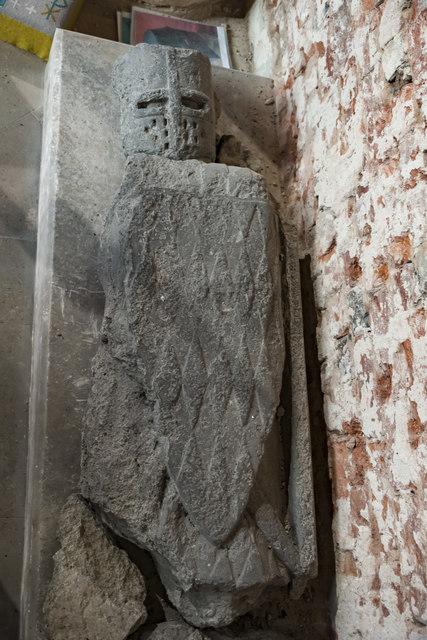 Effigy of Knight, Ss Mary & Martin's church, Blyth