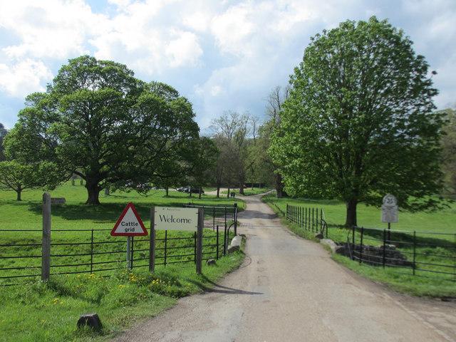 Access road to Hughenden Manor