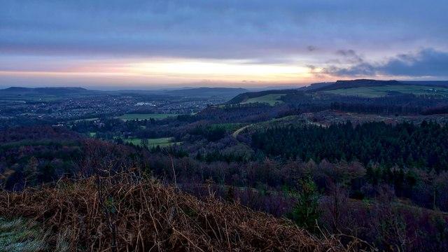 Dawn over Guisborough