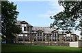 SE0337 : Haworth village hall by Bill Harrison