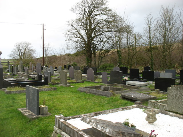 Capel Hebron graveyard