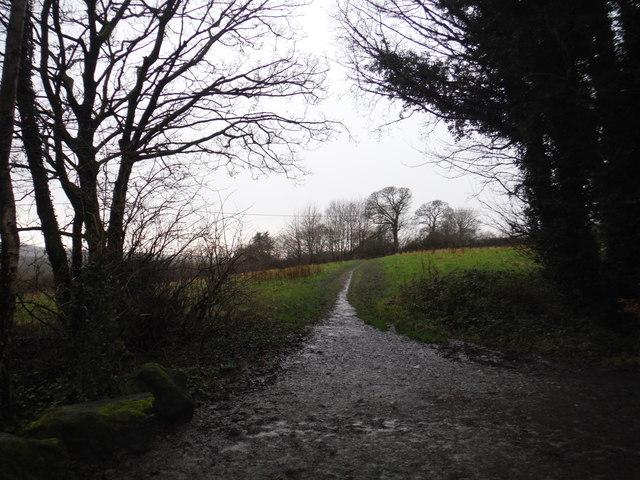 Path between Worthington's Farm and Draper's Farm House
