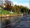 SO8405 : Merrywalks pelican crossing, Stroud by Jaggery