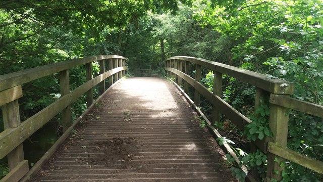 Footbridge over Blackwater River