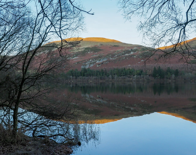 Mirror-like surface of Loweswater