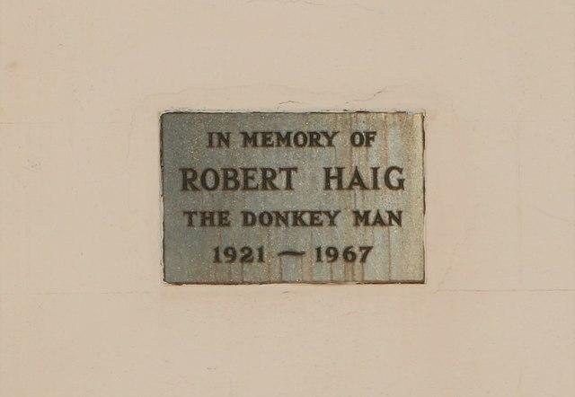 Memorial plaque, Elie