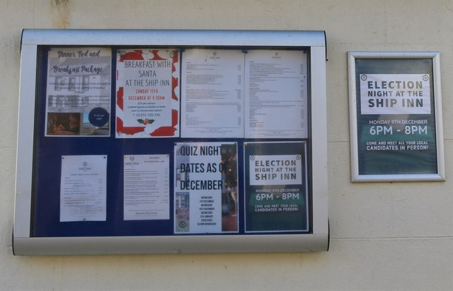 Notice Board, The Toft, Elie