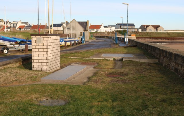 Waste water treatment facility at Elie Harbour
