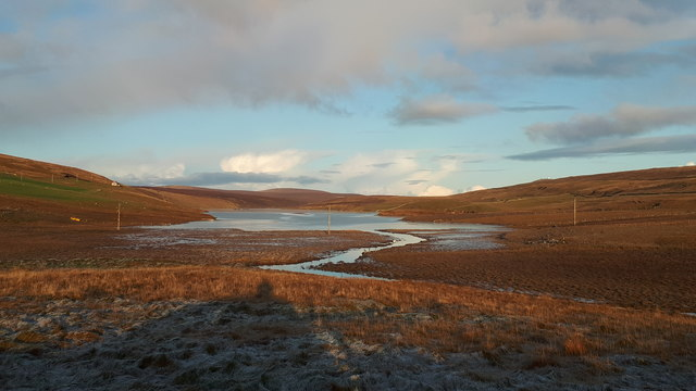 Frosty Loch of Cliff from Baliasta