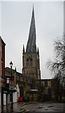 SK3871 : Church of St. Mary and All Saints, Chesterfield by habiloid