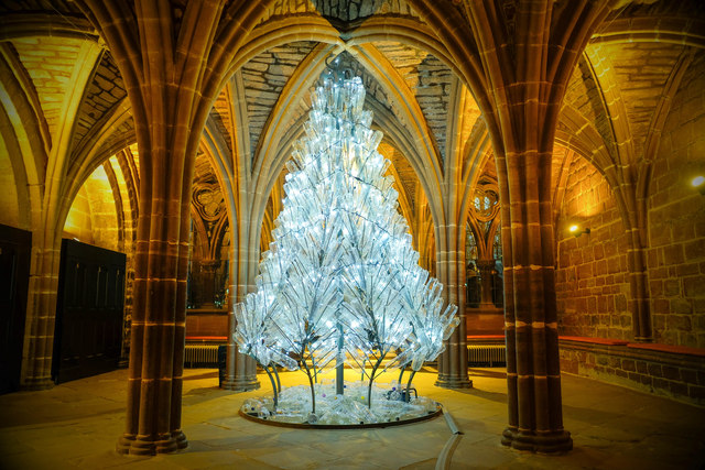 A Christmas Tree for Life in Chester Cathedral