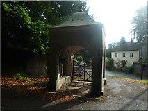 SO2956 : Lychgate at St. Mary's Church (Kington) by Fabian Musto