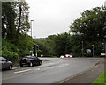 ST1597 : Junction of the B4254 and A469, Pengam by Jaggery